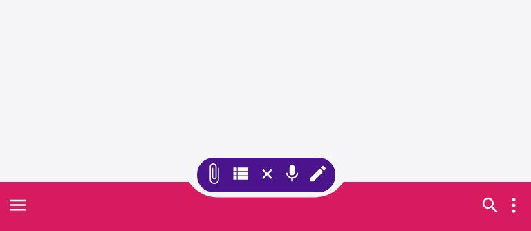CSS3 SVG手机移动端底部图标导航栏特效
