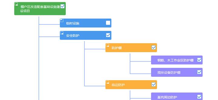 jQuery纵向树形结构图菜单代码