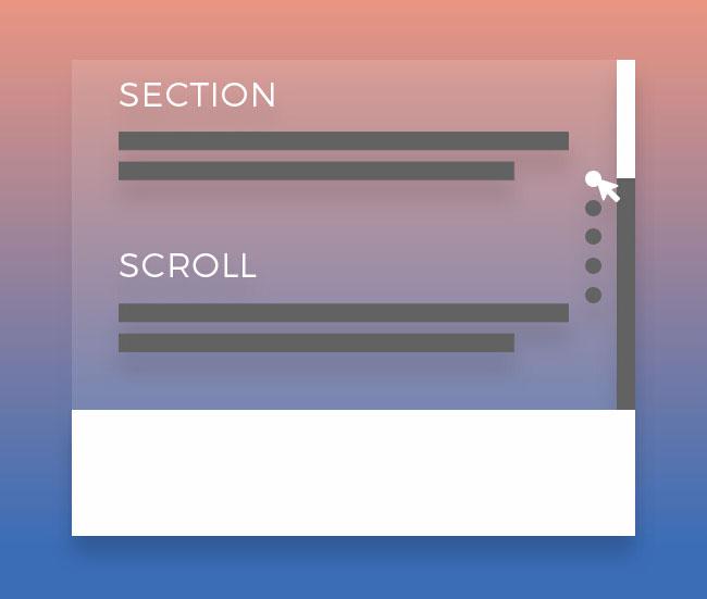 jQuery锚点定位全屏滚动切换代码