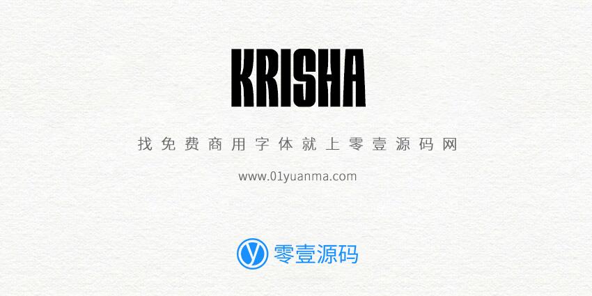 Krisha 免费商用字体