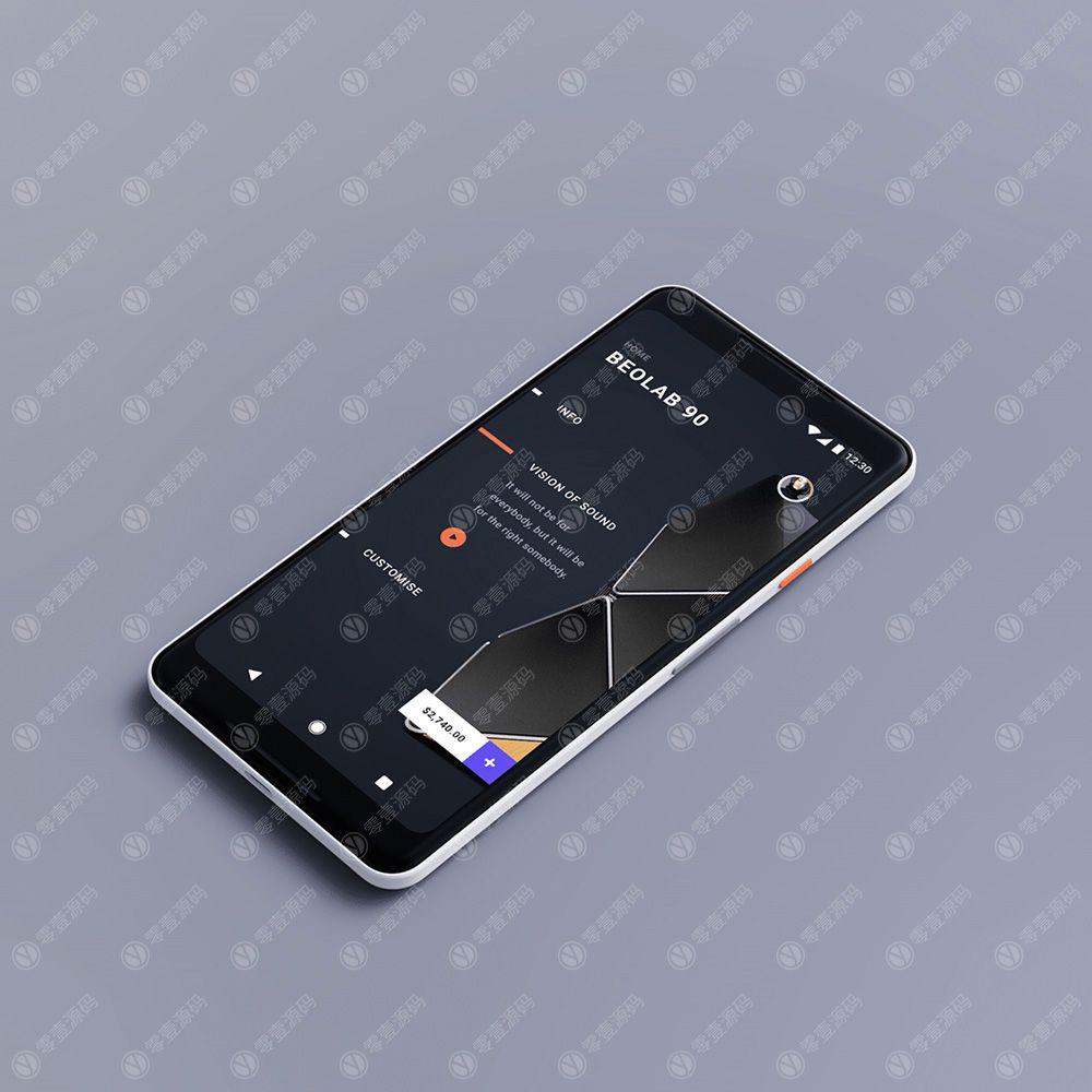 iPhone x Mockups苹果X手机样机模型
