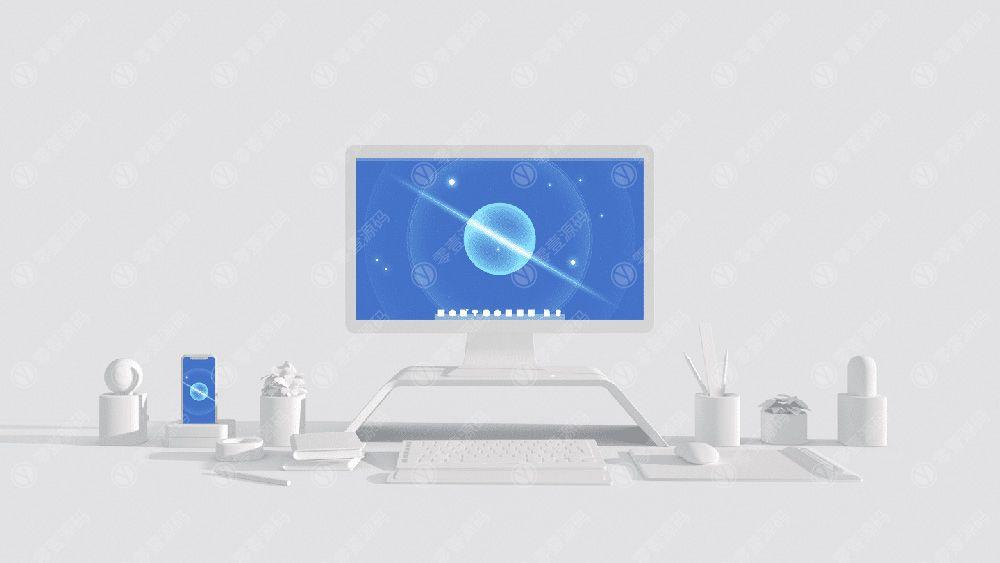 iMac iPhoneX 苹果X手机一体机电脑样机组合