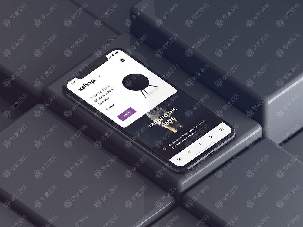 iPhonex Mockups苹果X样机模型下载
