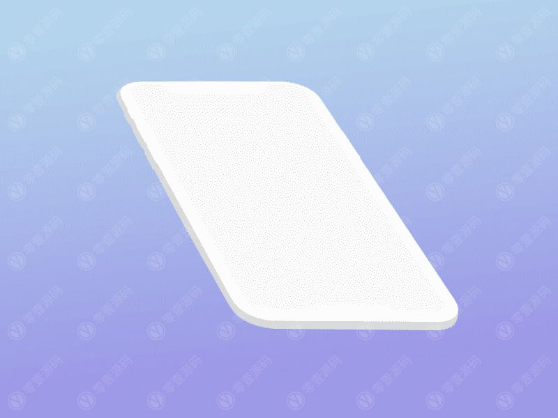 iPhone x 苹果X白模样机模型素材psd源文件