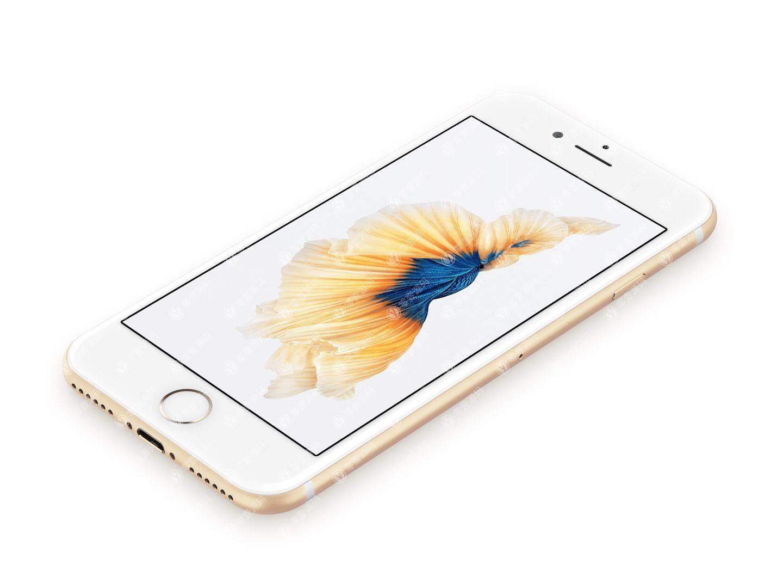 金色iPhone手机样机模型素材psd源文件
