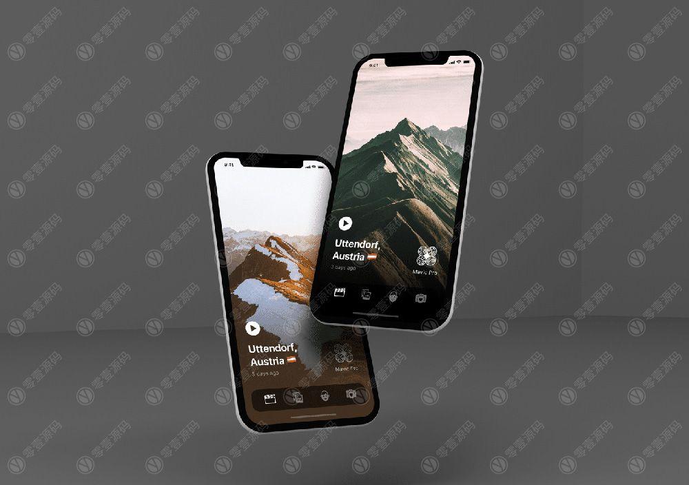 iPhoneX 手机场景组合样机下载