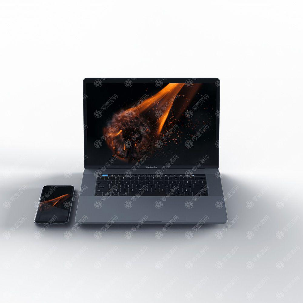 iPhonex/MacBook Mockups苹果X手机笔记本电脑样机