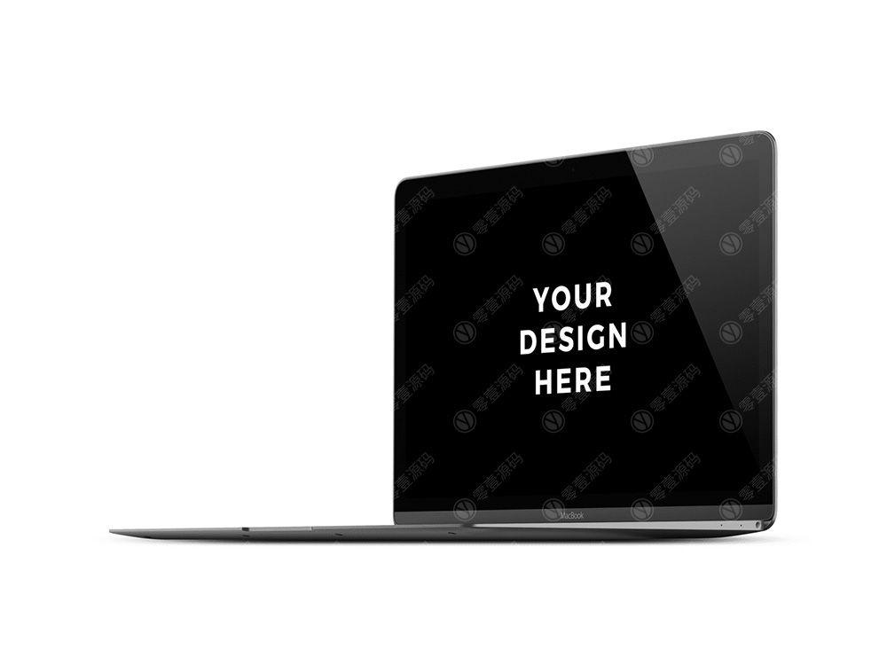 MacBook Pro Mockups苹果笔记本电脑样机模型素材psd源文件