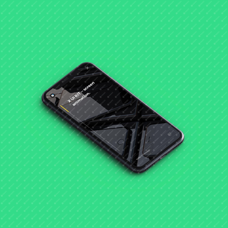 iPhonex Mockups苹果X手机样机源文件下载