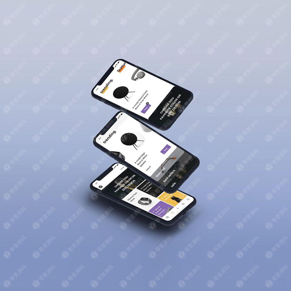 iPhone x Mockups苹果X组合样机素材下载