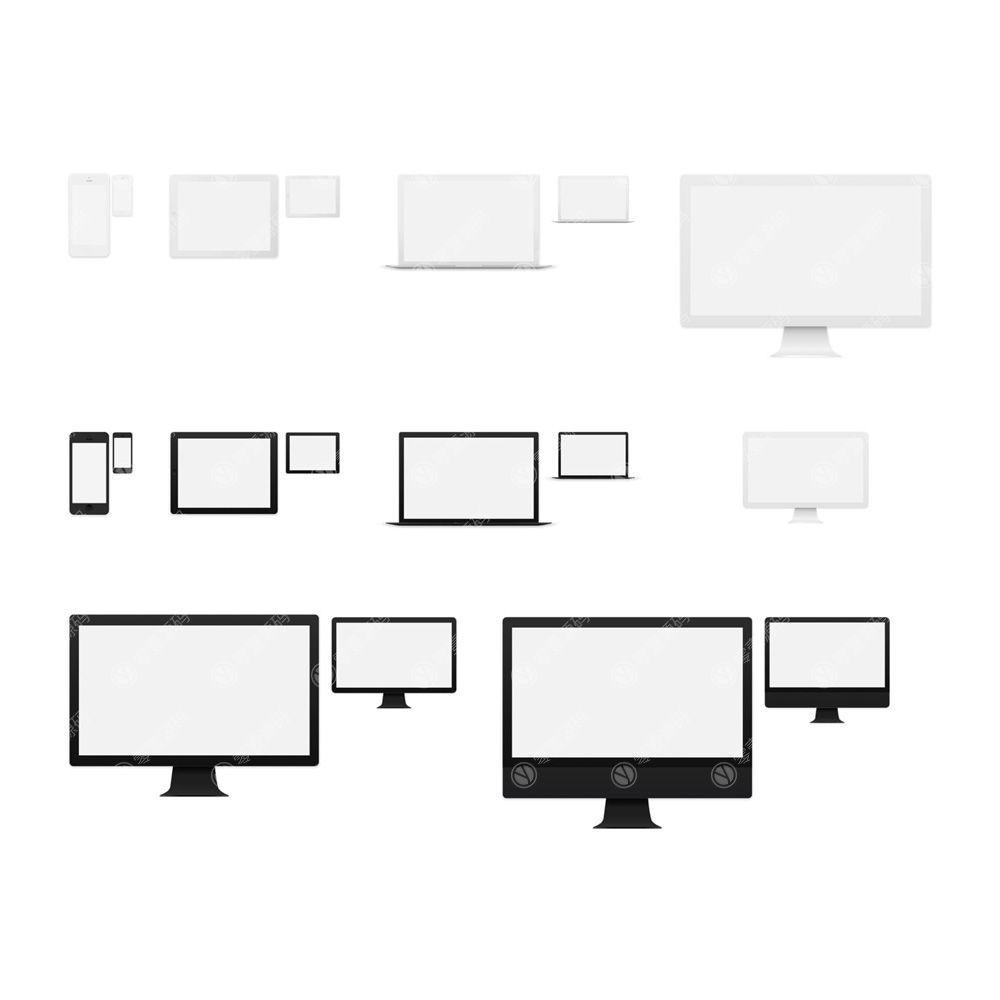 iMac iPhoneX Mockups MacBook iPad苹果X手机一体机电脑样机